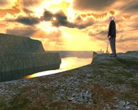 An old man's sunset